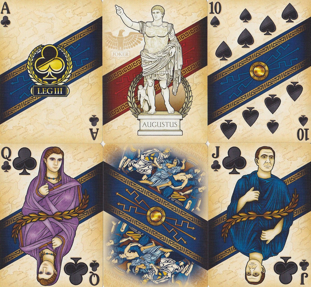 Rome: Antony Edition Playing Cards by Midnight Cards