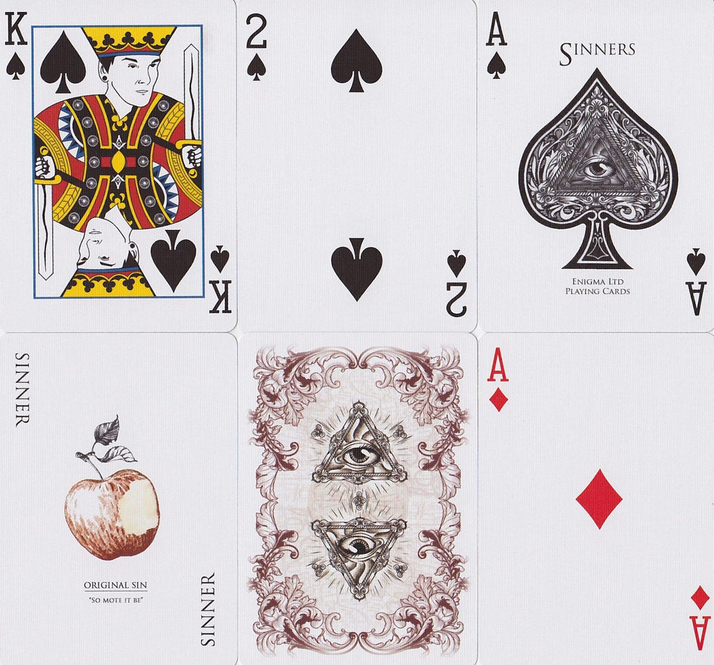 Rorrison's Sinners Playing Cards - RarePlayingCards.com - 8