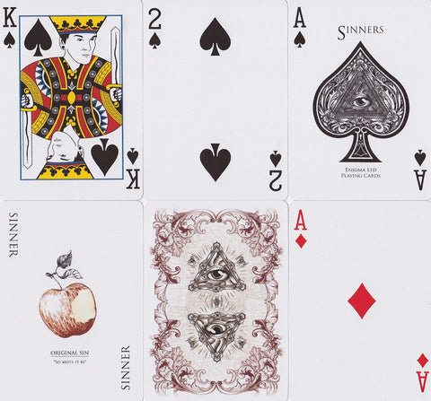 Rorrison's Sinners Playing Cards