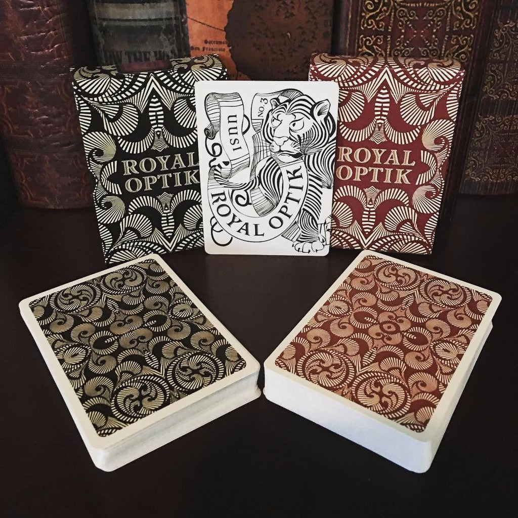 Royal Optik Playing Cards by Uusi