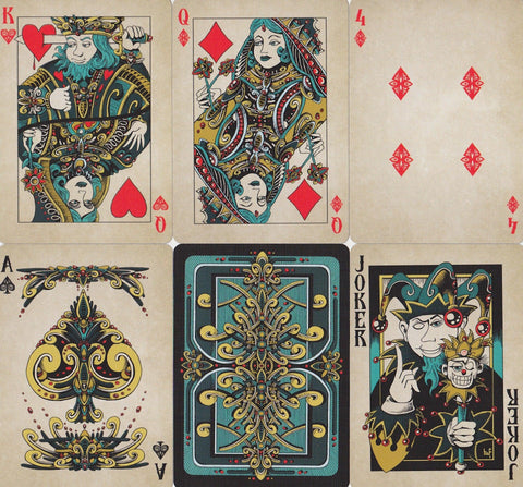 Royal Pulp Playing Cards