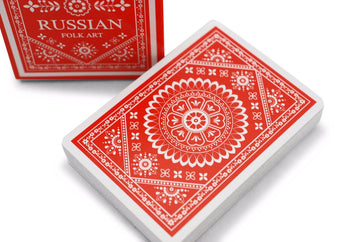 Russian Folk Art Playing Cards by US Playing Card Co.