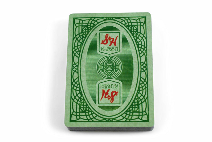 S&H Green Stamps Playing Cards by Classics Playing Cards