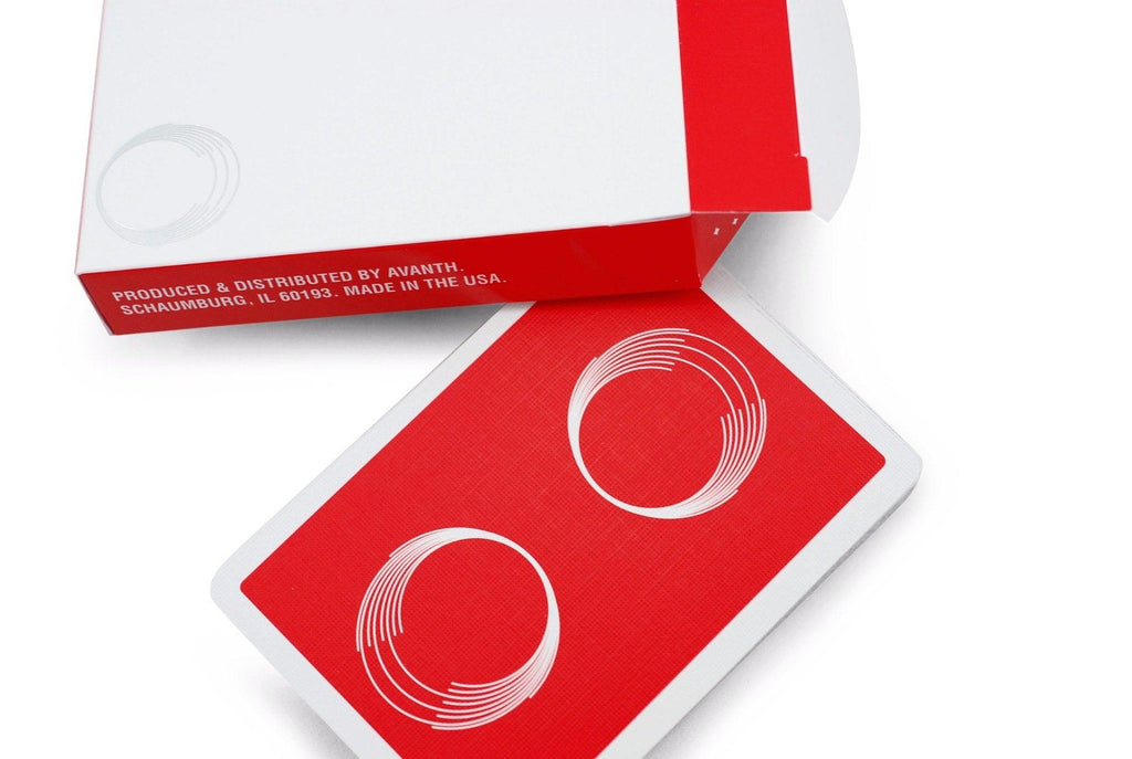 Saturn: Red October Playing Cards - RarePlayingCards.com - 5