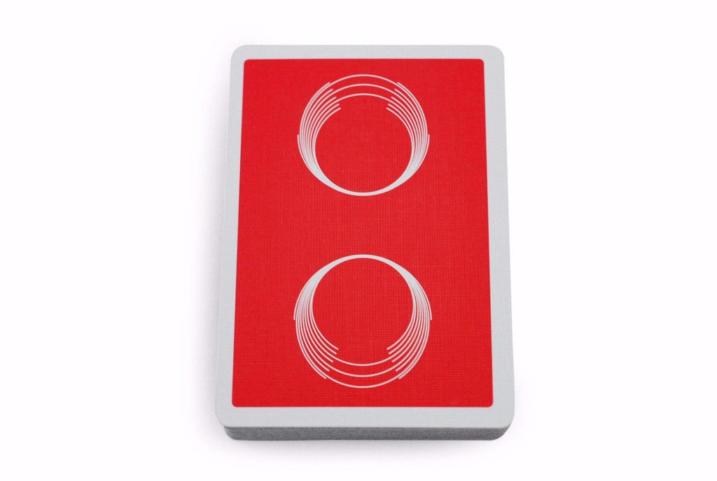 Saturn: Red October Playing Cards - RarePlayingCards.com - 6