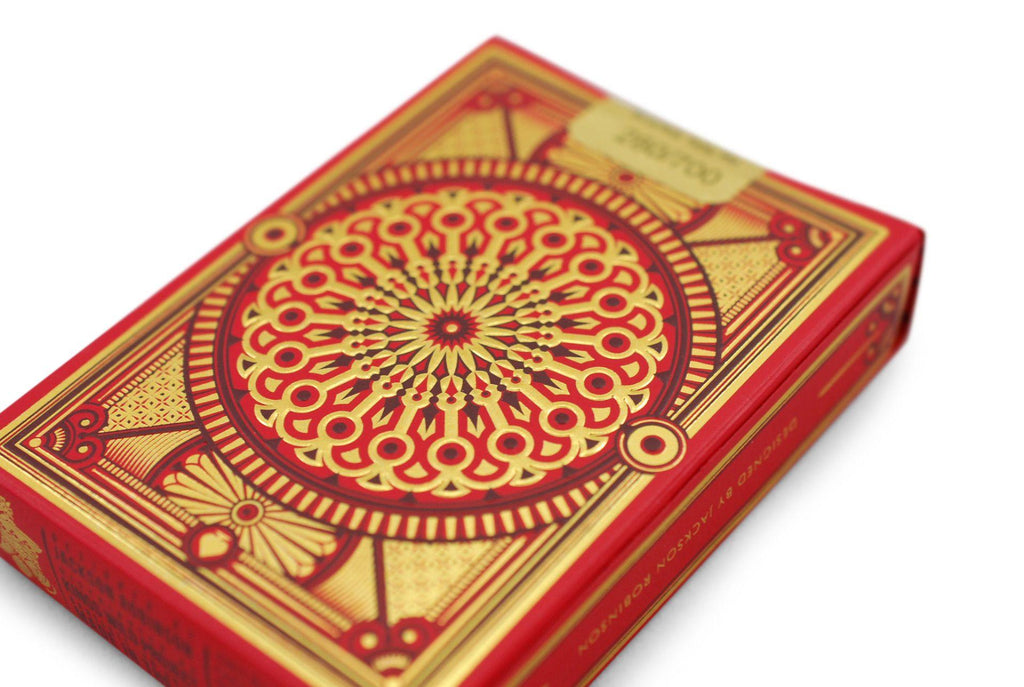 Scarlett Tally Ho Playing Cards - RarePlayingCards.com - 6