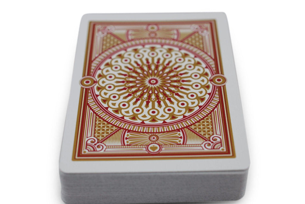 Scarlett Tally Ho Playing Cards - RarePlayingCards.com - 9