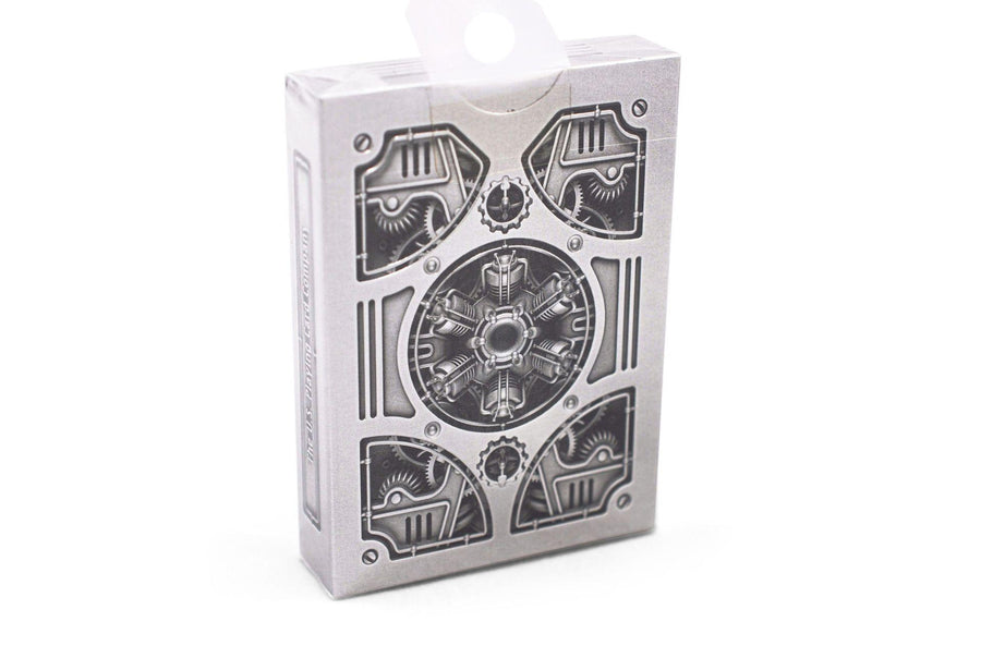 Silver Steampunk Playing Cards by US Playing Card Co.