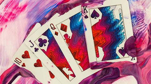 Sirius B Playing Cards by Riffle Shuffle Playing Card Company