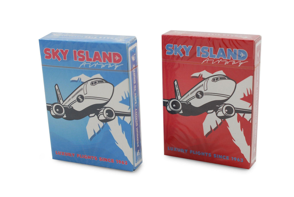 Sky Island Playing Cards - RarePlayingCards.com - 2