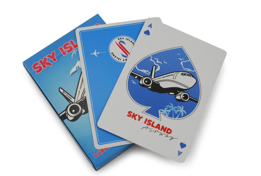 Sky Island Playing Cards by The Blue Crown