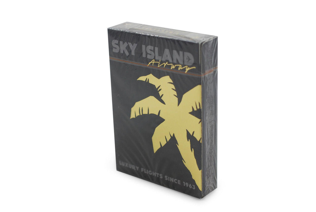 Sky Island Black Playing Cards - RarePlayingCards.com - 2
