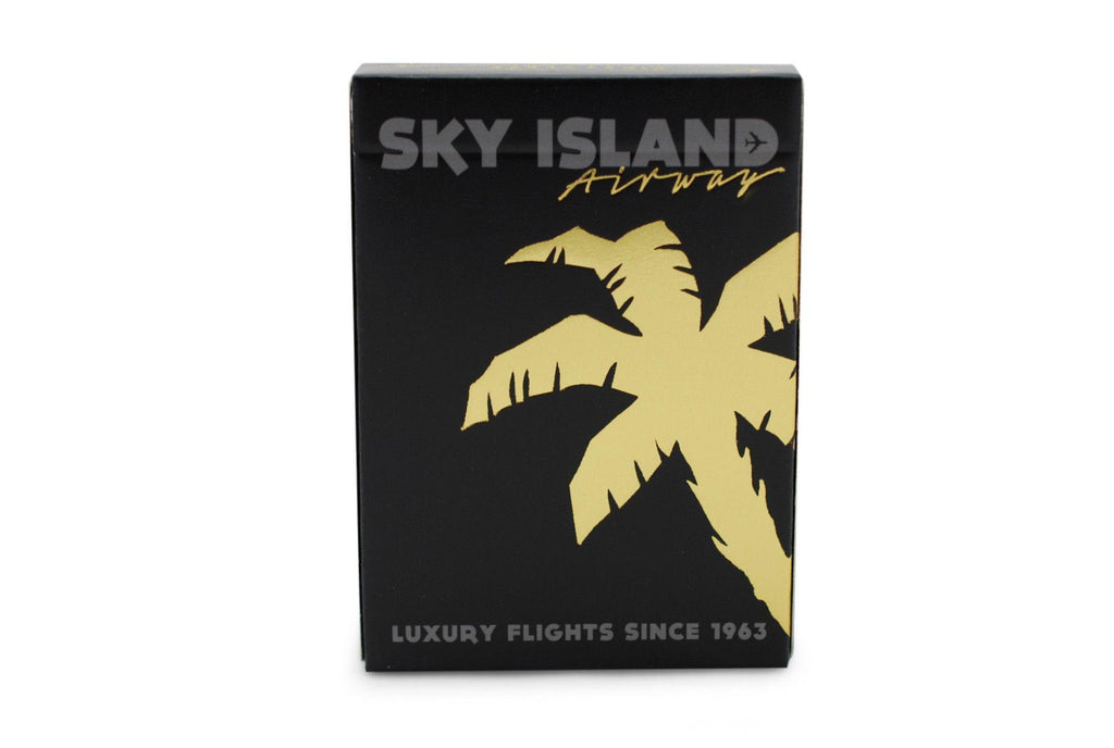 Sky Island Black Playing Cards - RarePlayingCards.com - 3
