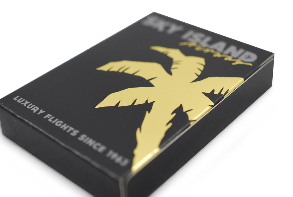 Sky Island Black Playing Cards - RarePlayingCards.com - 4