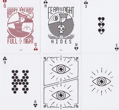 Sleepers Playing Cards - RarePlayingCards.com - 1