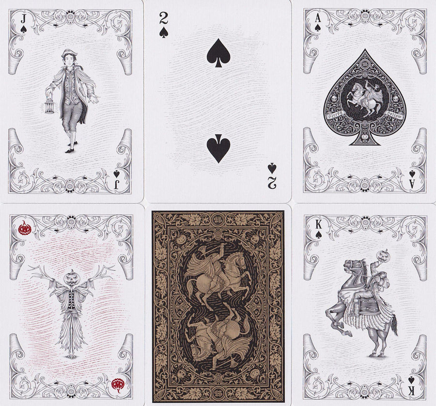 Sleepy Hollow Playing Cards by Pure Imagination Projects