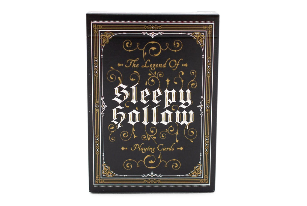 Sleepy Hollow Playing Cards - RarePlayingCards.com - 4