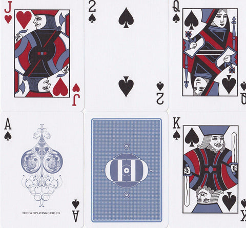 Smoke & Mirrors Denim, 2nd Print Playing Cards by Dan & Dave