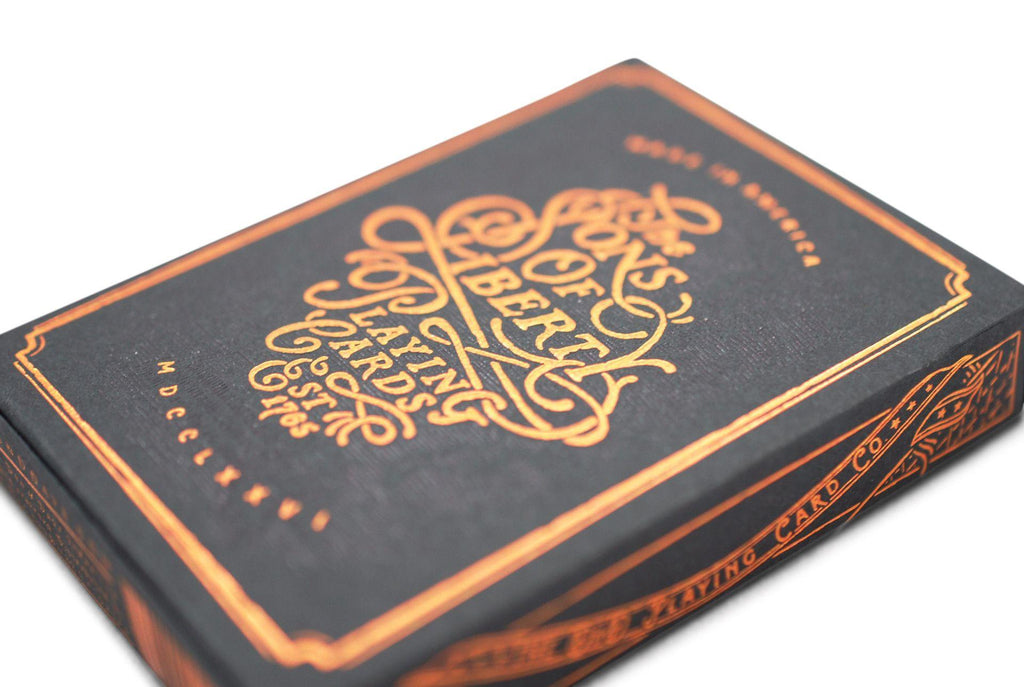 Sons of Liberty Playing Cards