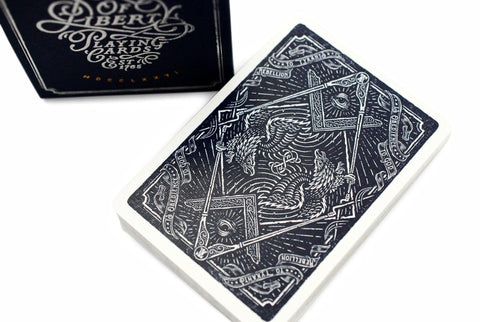 Sons of Liberty, Patriot Blue Playing Cards