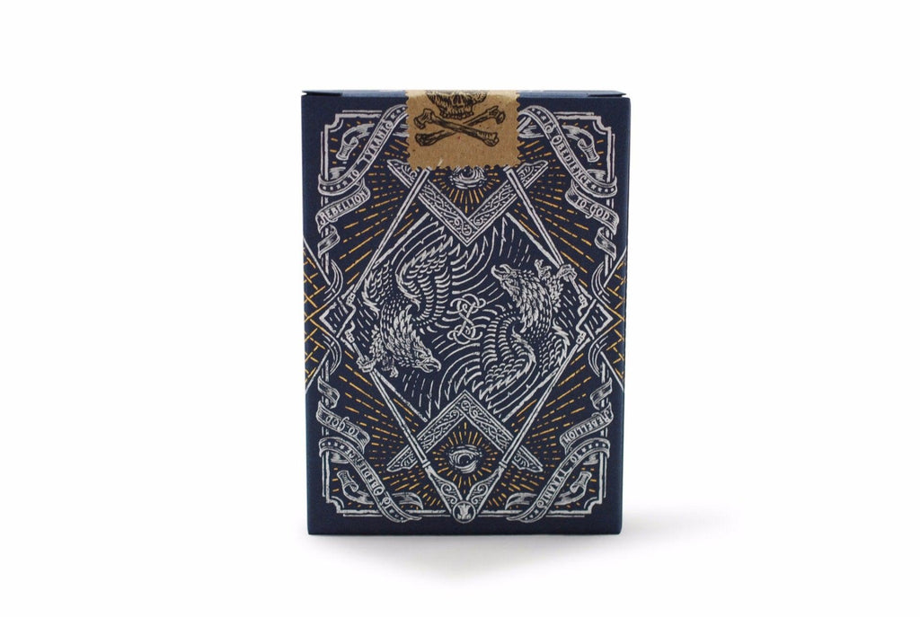 Sons of Liberty, Patriot Blue Playing Cards - RarePlayingCards.com - 3