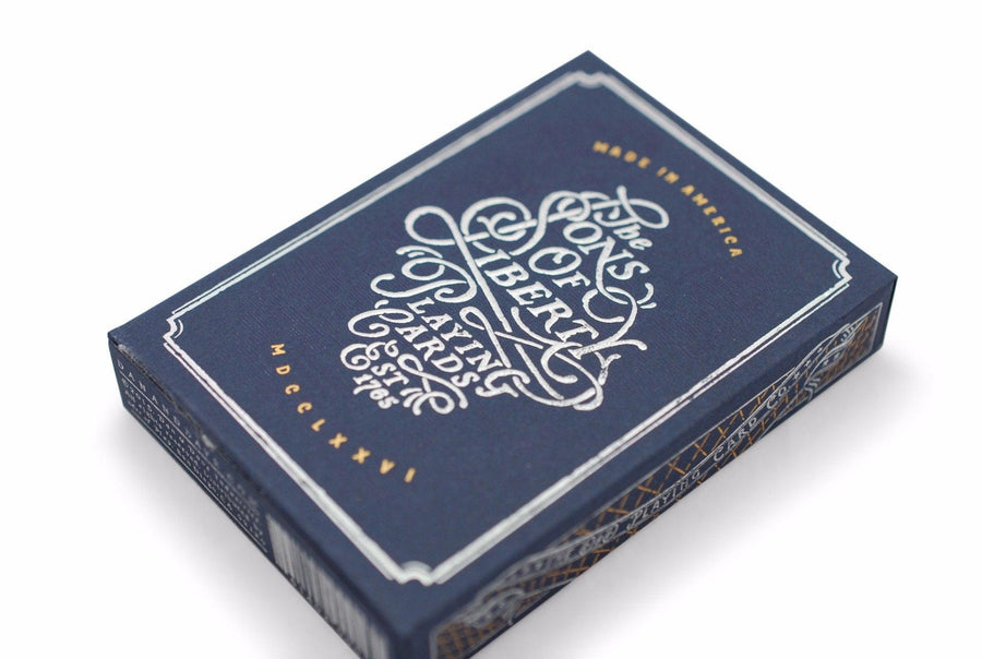 Sons of Liberty, Patriot Blue Playing Cards by Dan & Dave