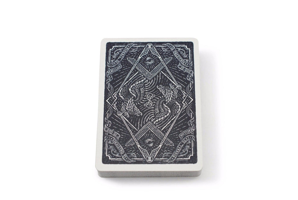 Sons of Liberty, Patriot Blue Playing Cards - RarePlayingCards.com - 7