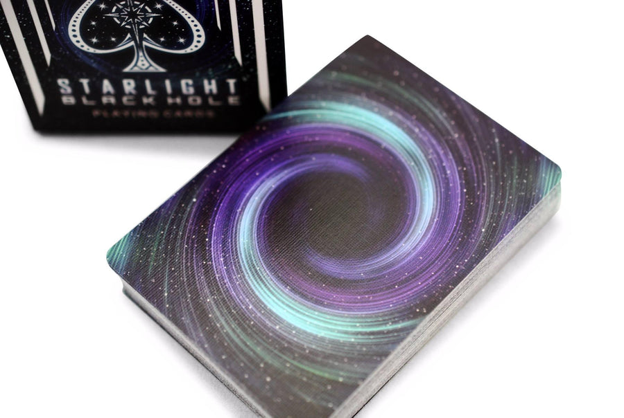 Bicycle® Starlight Black Hole Playing Cards by US Playing Card Co.