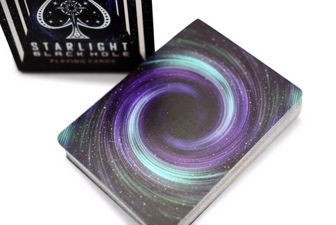 Bicycle® Starlight Black Hole Playing Cards