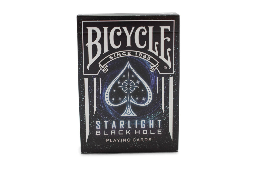 Starlight Black Hole Playing Cards - RarePlayingCards.com - 2