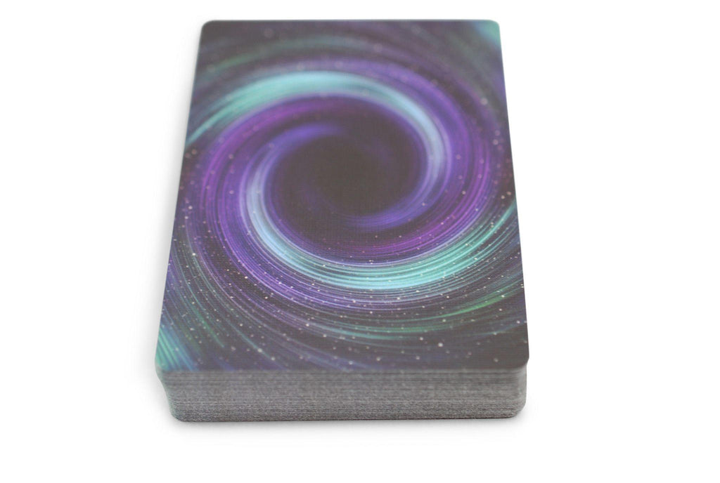 Starlight Black Hole Playing Cards - RarePlayingCards.com - 7