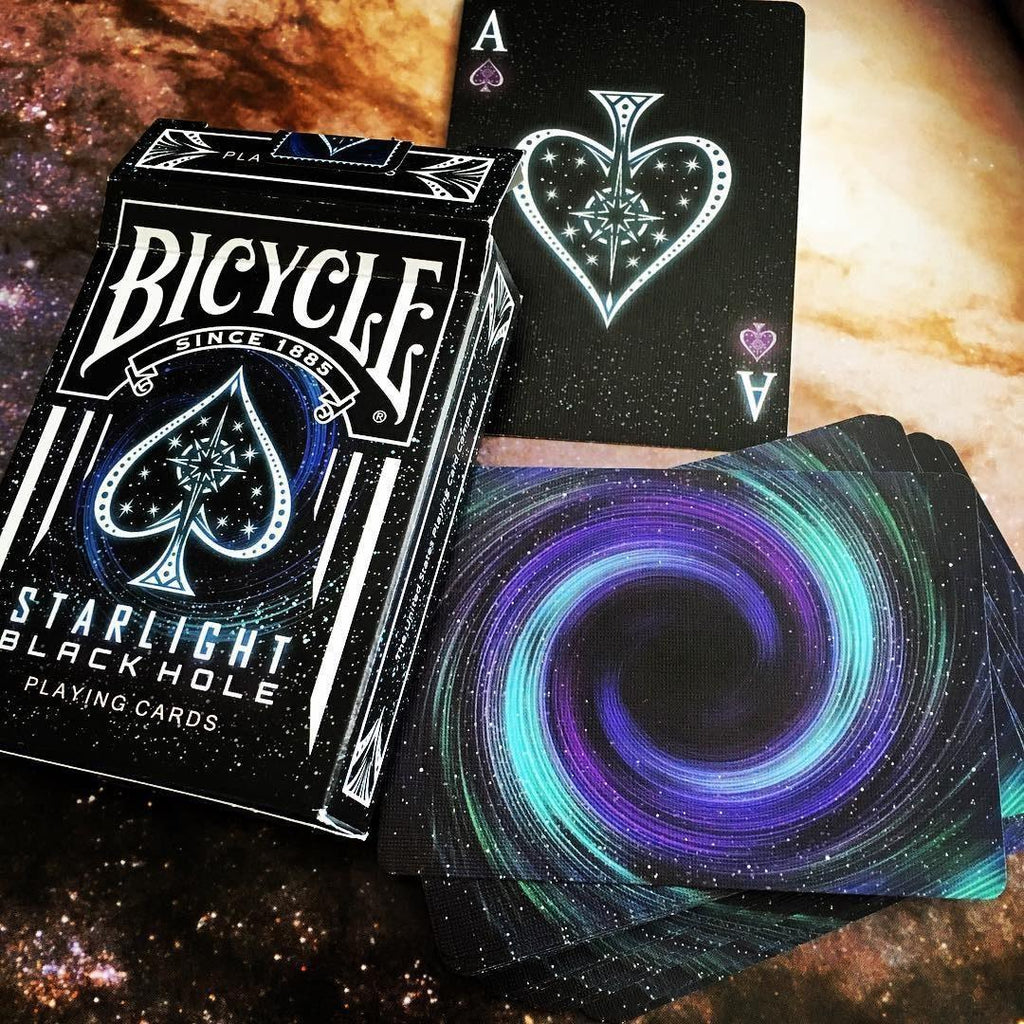 Starlight Black Hole Playing Cards - RarePlayingCards.com - 9