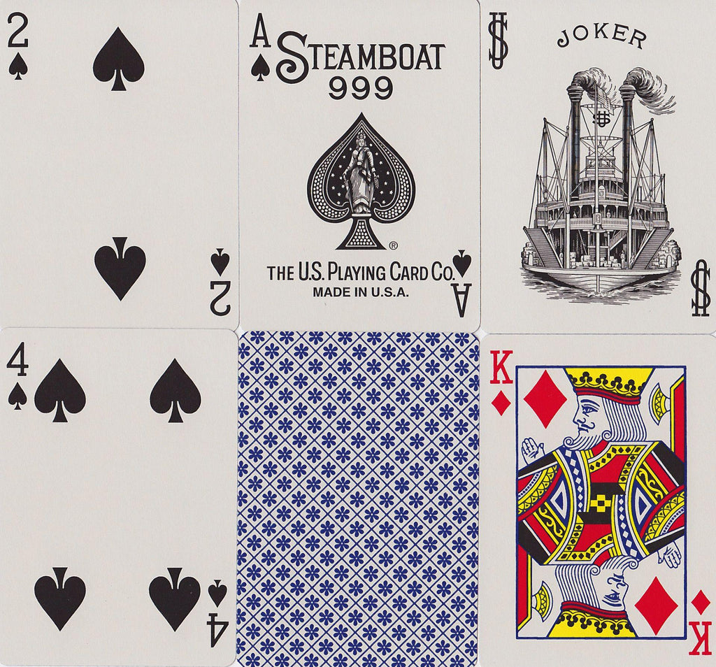 Steamboat 999 Playing Cards - RarePlayingCards.com - 11