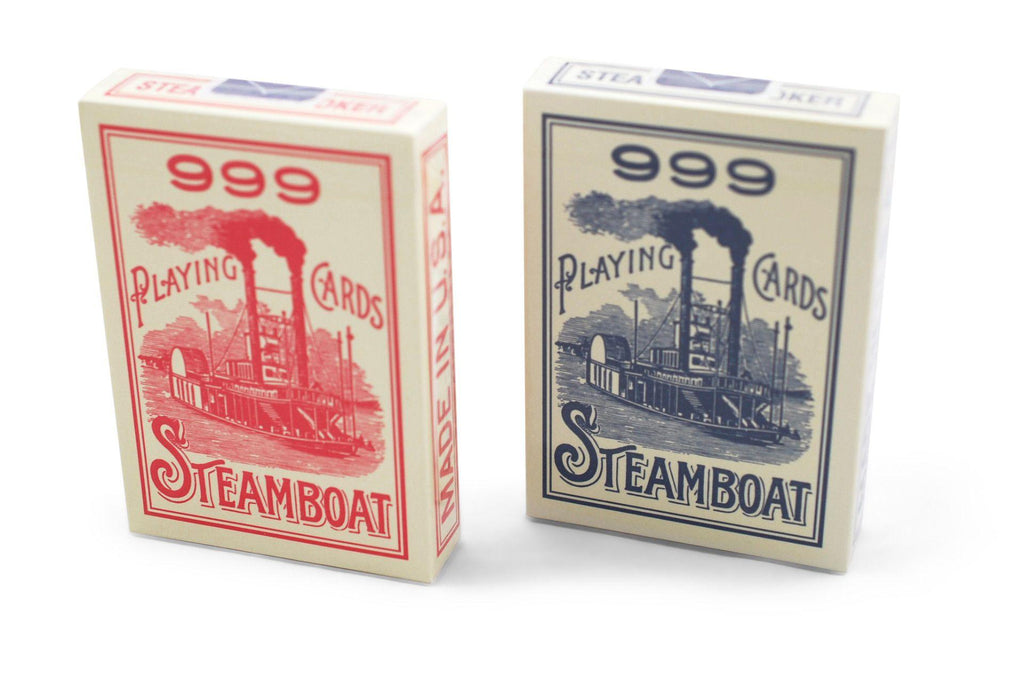 Steamboat 999 Playing Cards - RarePlayingCards.com - 2