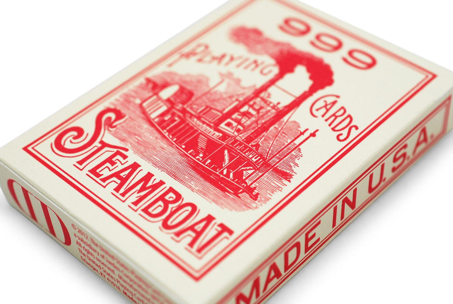 Steamboat 999 Playing Cards by Dan & Dave