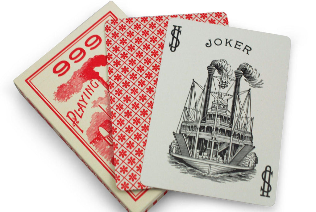 Steamboat 999 Playing Cards - RarePlayingCards.com - 9