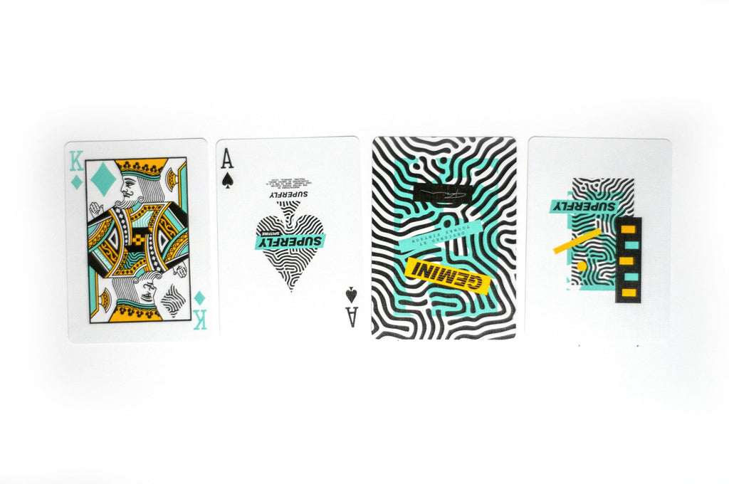 Superfly Spitfire Playing Cards by Gemini