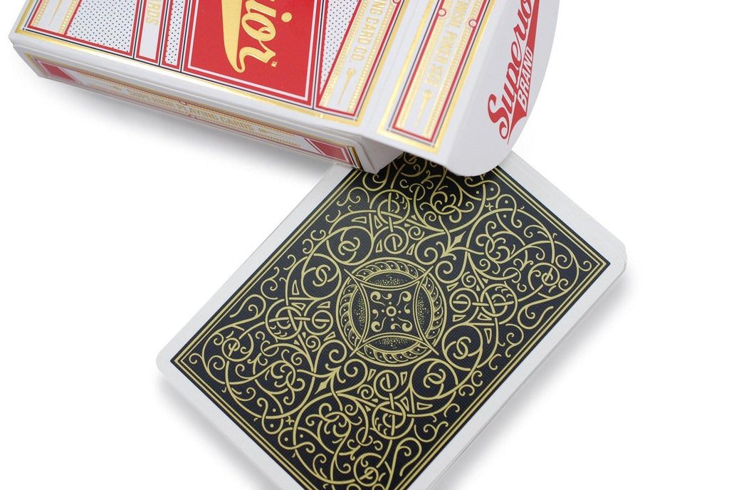 Robusto Classic Playing Cards - RarePlayingCards.com - 6