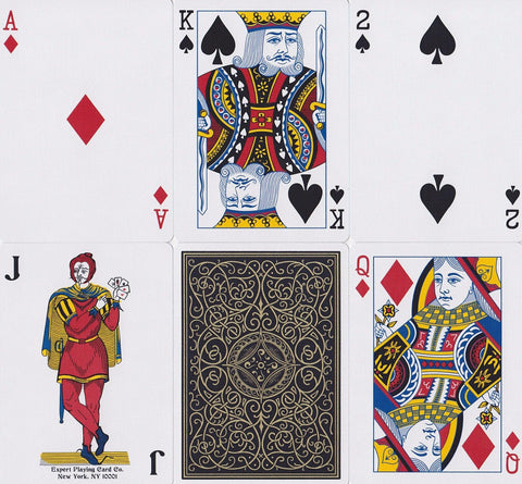 Robusto Classic Playing Cards - RarePlayingCards.com - 1