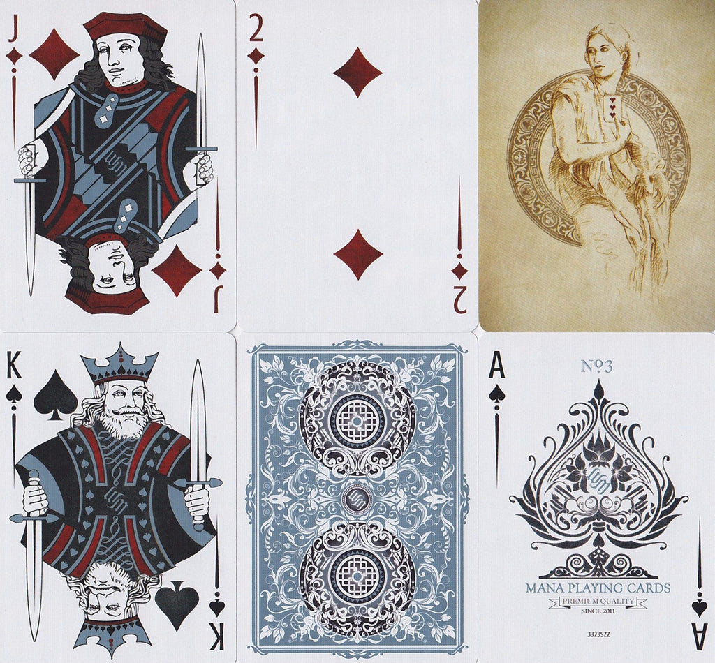 Sybil Livida Playing Cards by Mana Playing Card Co.
