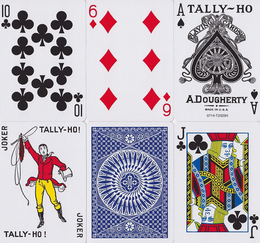 Tally Ho Circle Back Playing Cards by US Playing Card Co.