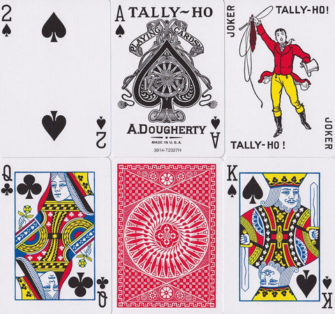 Tally Ho Circle Back Playing Cards - RarePlayingCards.com - 1