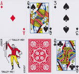 Tally Ho Fan Back Playing Cards - RarePlayingCards.com - 10