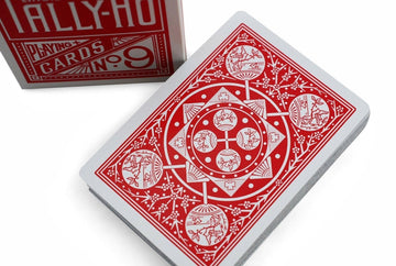 28eb801d6d3 Tally Ho Fan Back Playing Cards by US Playing Card Co.