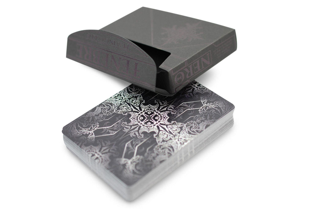 Tenebre Nero Playing Cards - RarePlayingCards.com - 4