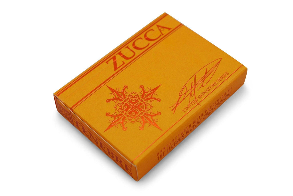 Tenebre Zucca Playing Cards - RarePlayingCards.com - 3