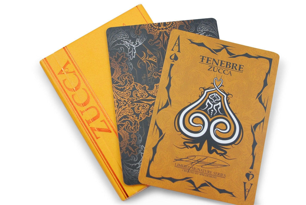 Tenebre Zucca Playing Cards - RarePlayingCards.com - 7