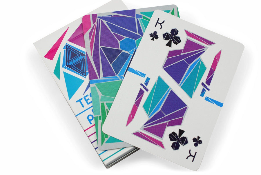 Tessellatus Playing Cards by HunkyDory Cards