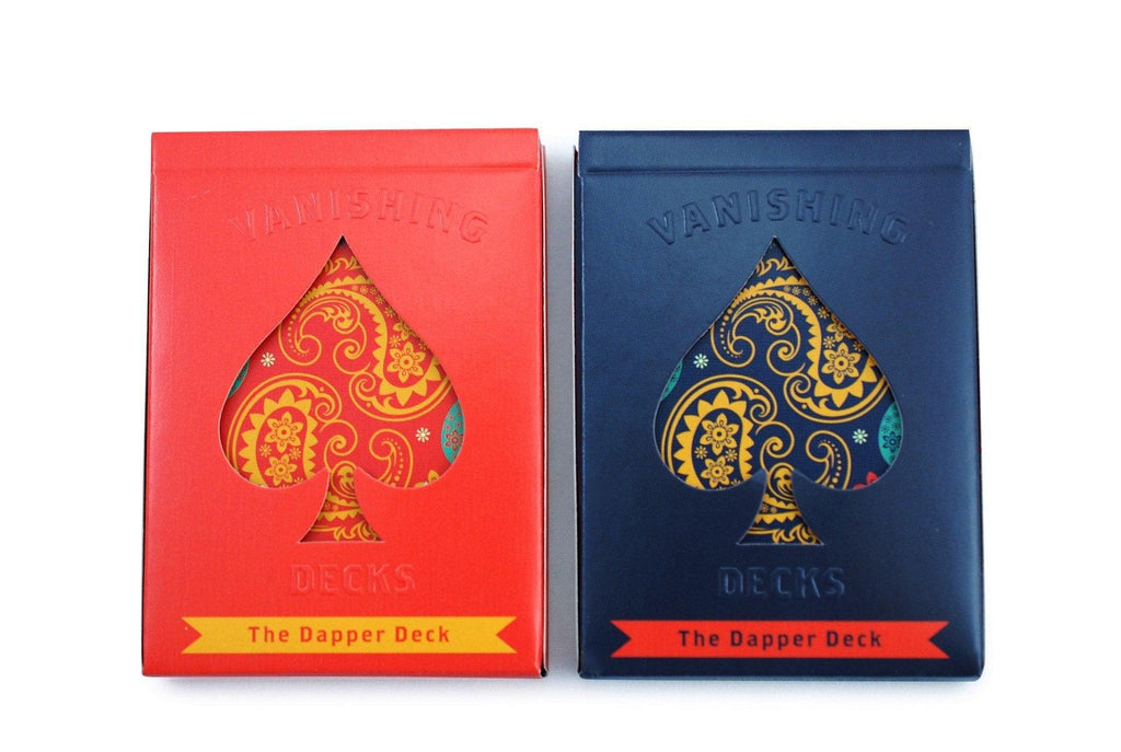 The Dapper Deck Playing Cards - RarePlayingCards.com - 2