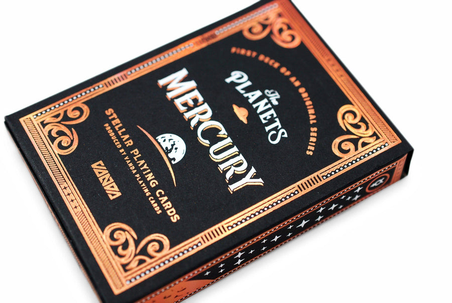 The Planets: Mercury Playing Cards by Vanda